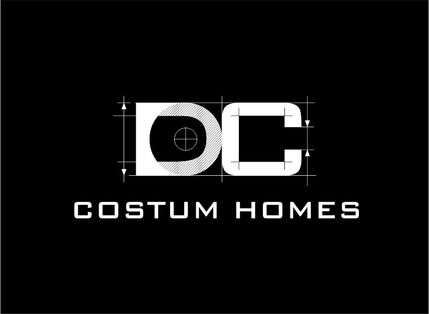 Logo Design by Armada Jamaluddin - Entry No. 241 in the Logo Design Contest Creative Logo Design for DC Custom Homes.