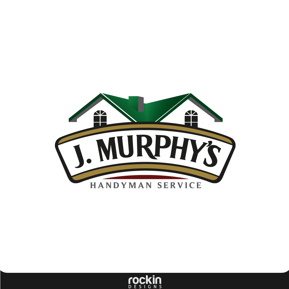 Logo Design by rockin - Entry No. 66 in the Logo Design Contest J. Murphy's Renovations Logo Design.