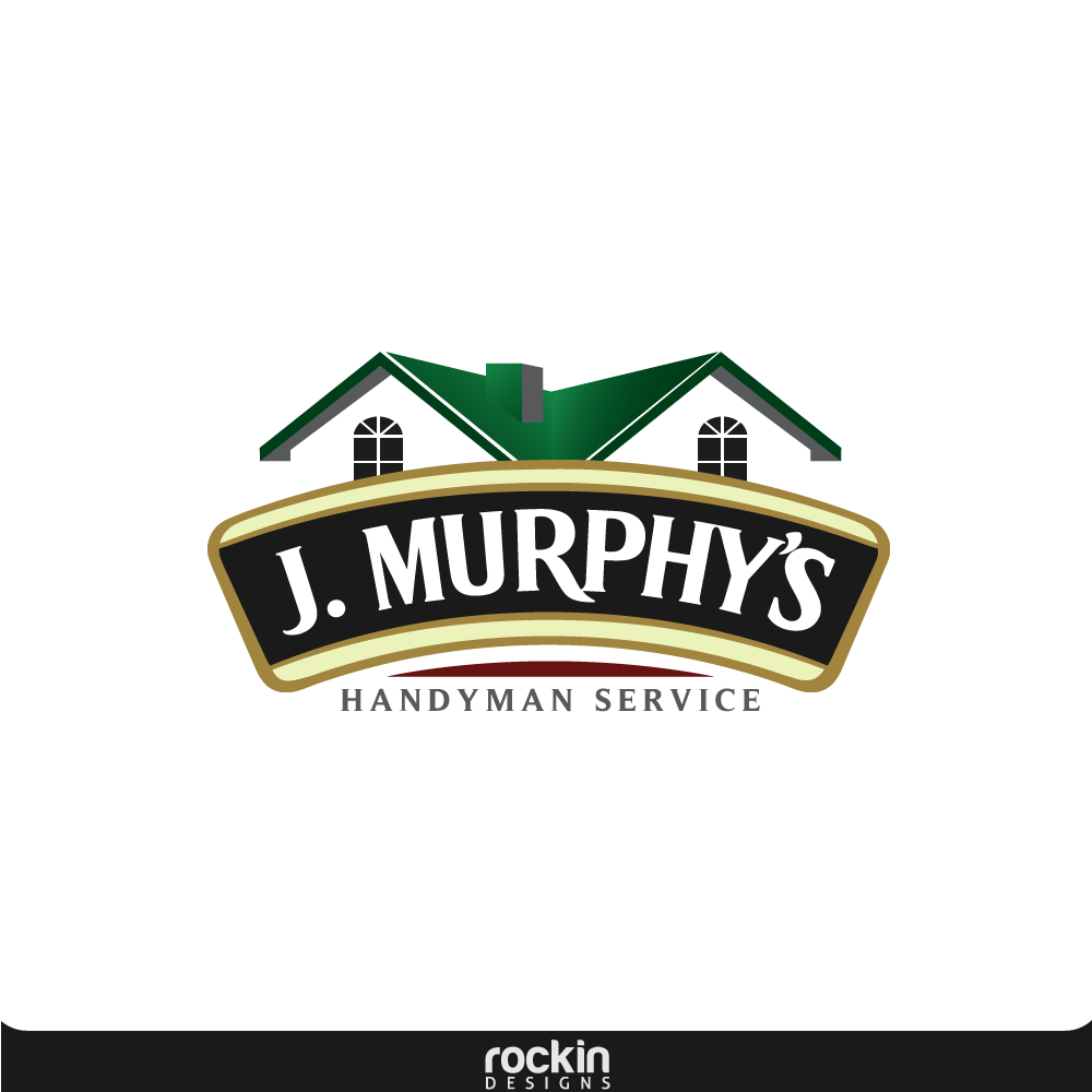 Logo Design by rockin - Entry No. 67 in the Logo Design Contest J. Murphy's Renovations Logo Design.