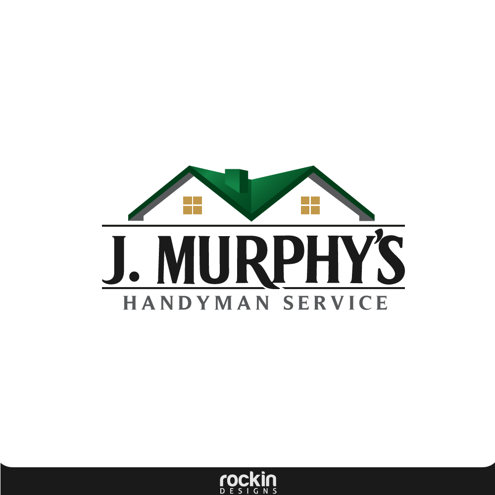 Logo Design by rockin - Entry No. 68 in the Logo Design Contest J. Murphy's Renovations Logo Design.