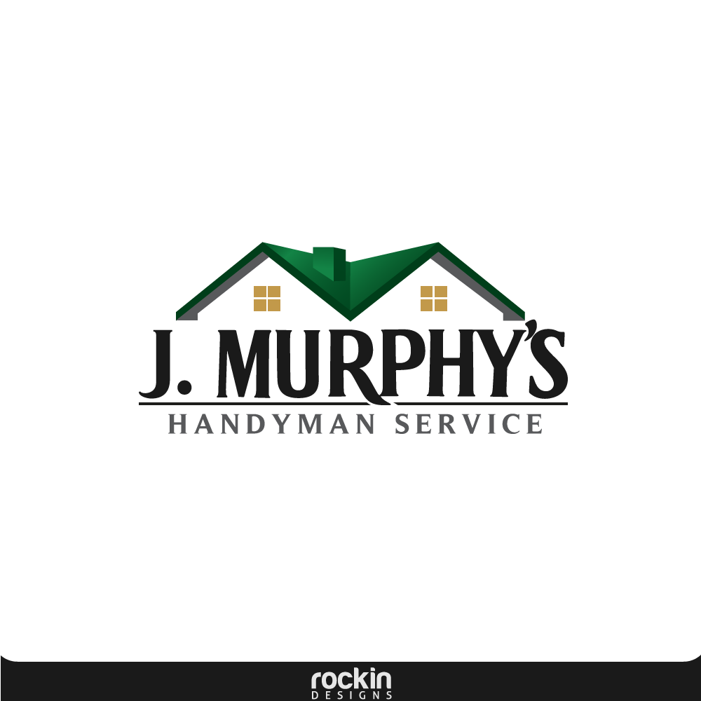 Logo Design by rockin - Entry No. 69 in the Logo Design Contest J. Murphy's Renovations Logo Design.