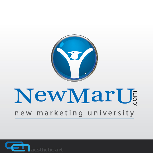 Logo Design by aesthetic-art - Entry No. 79 in the Logo Design Contest NewMarU.com (New Marketing University).