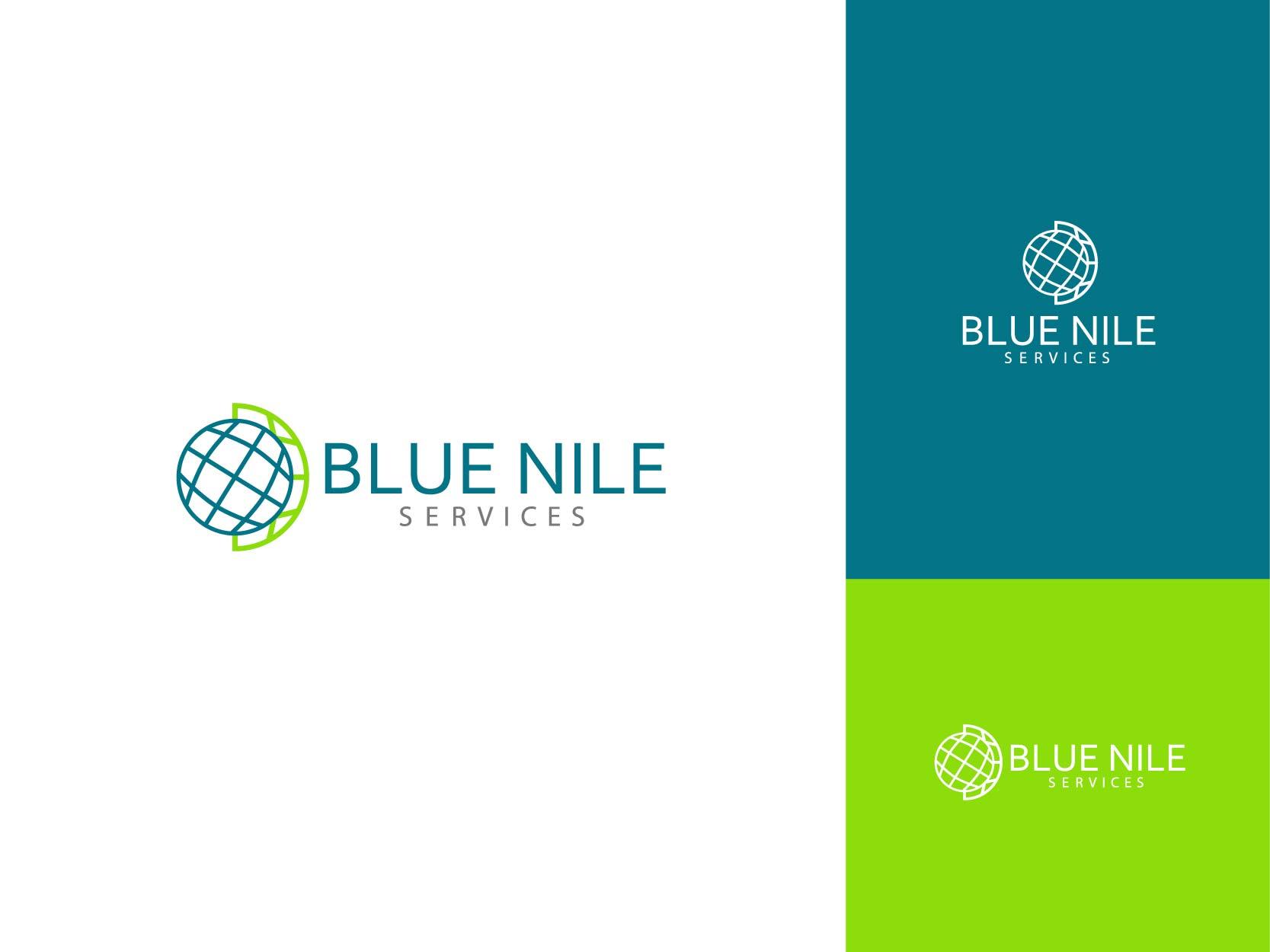 Logo Design by Osi Indra - Entry No. 24 in the Logo Design Contest Imaginative Logo Design for Blue Nile Service Ltd.
