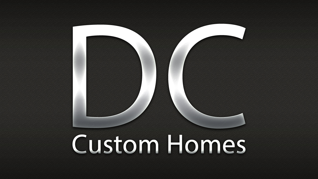 Logo Design by Anderson Lipa - Entry No. 244 in the Logo Design Contest Creative Logo Design for DC Custom Homes.