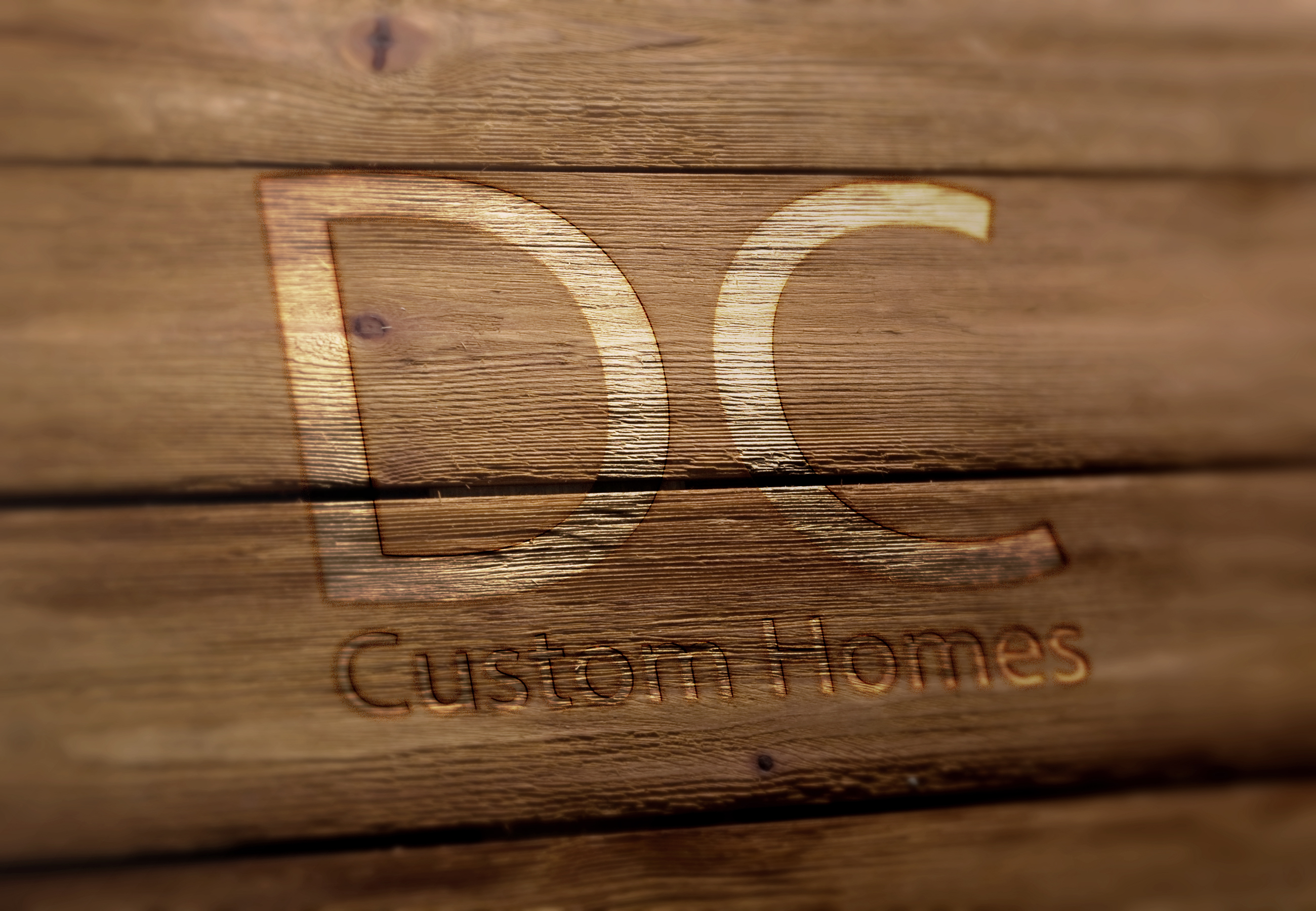 Logo Design by Anderson Lipa - Entry No. 245 in the Logo Design Contest Creative Logo Design for DC Custom Homes.
