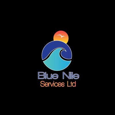 Logo Design by Private User - Entry No. 25 in the Logo Design Contest Imaginative Logo Design for Blue Nile Service Ltd.