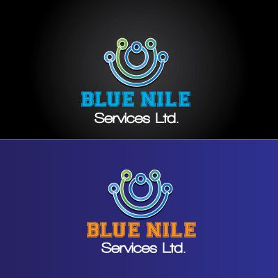 Logo Design by Private User - Entry No. 26 in the Logo Design Contest Imaginative Logo Design for Blue Nile Service Ltd.