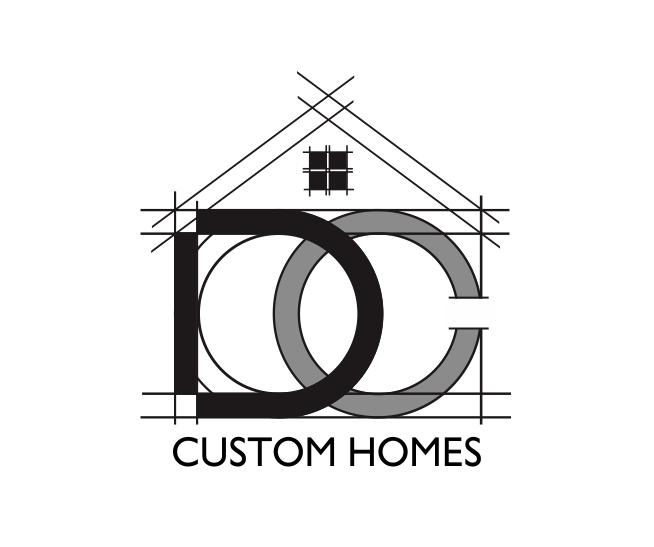 Logo Design by ronny - Entry No. 249 in the Logo Design Contest Creative Logo Design for DC Custom Homes.