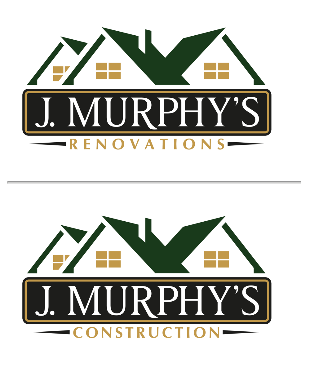 Logo Design by Private User - Entry No. 77 in the Logo Design Contest J. Murphy's Renovations Logo Design.