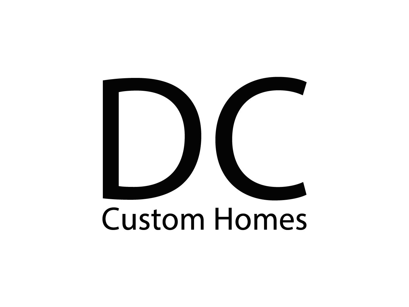 Logo Design by Anderson Lipa - Entry No. 251 in the Logo Design Contest Creative Logo Design for DC Custom Homes.