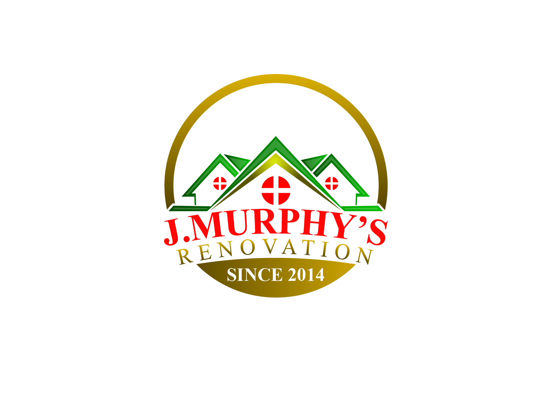 Logo Design by Private User - Entry No. 84 in the Logo Design Contest J. Murphy's Renovations Logo Design.