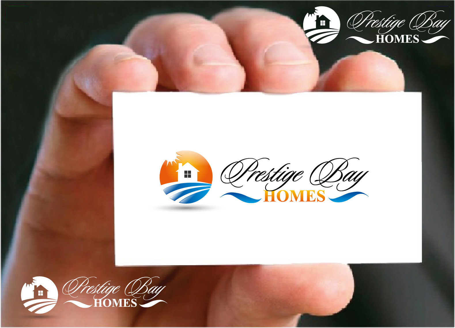 Logo Design by Private User - Entry No. 34 in the Logo Design Contest Imaginative Logo Design for Prestige Bay Homes.
