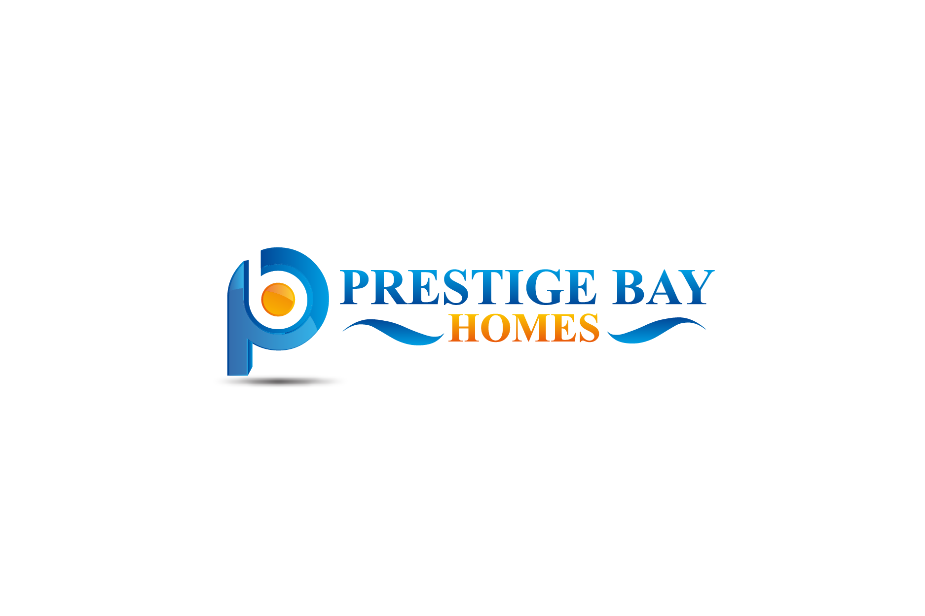 Logo Design by Private User - Entry No. 36 in the Logo Design Contest Imaginative Logo Design for Prestige Bay Homes.