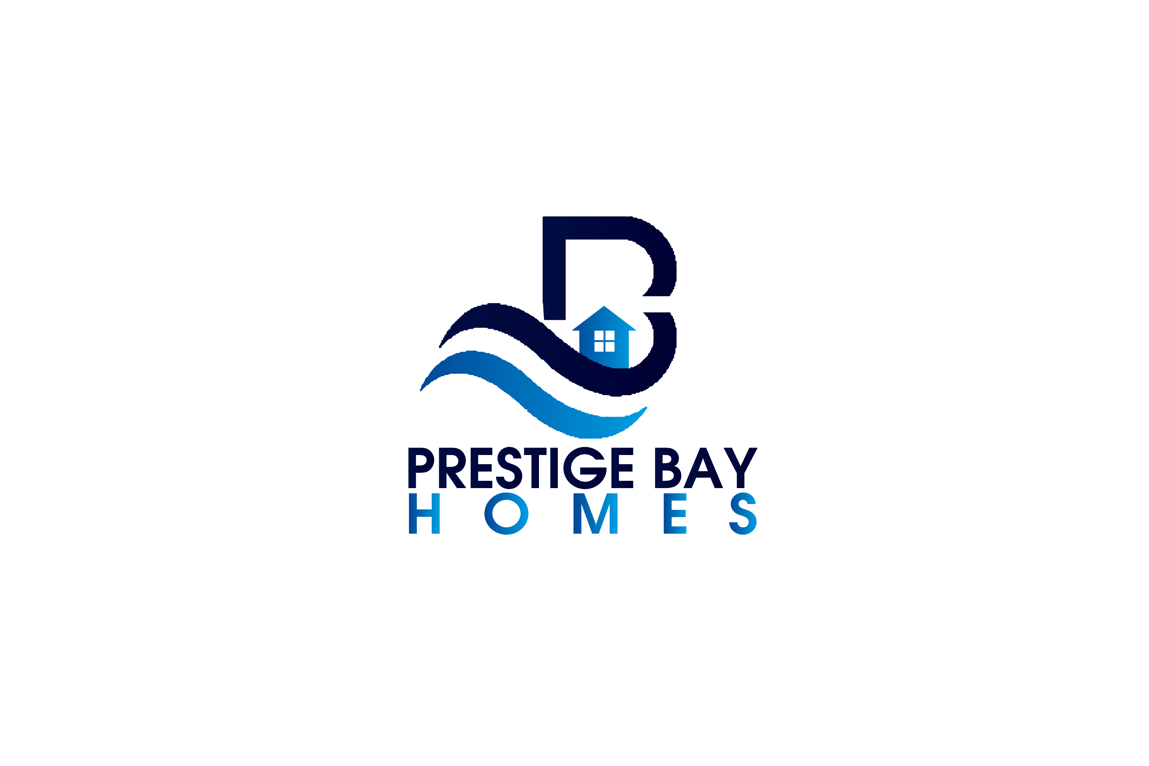 Logo Design by Private User - Entry No. 41 in the Logo Design Contest Imaginative Logo Design for Prestige Bay Homes.