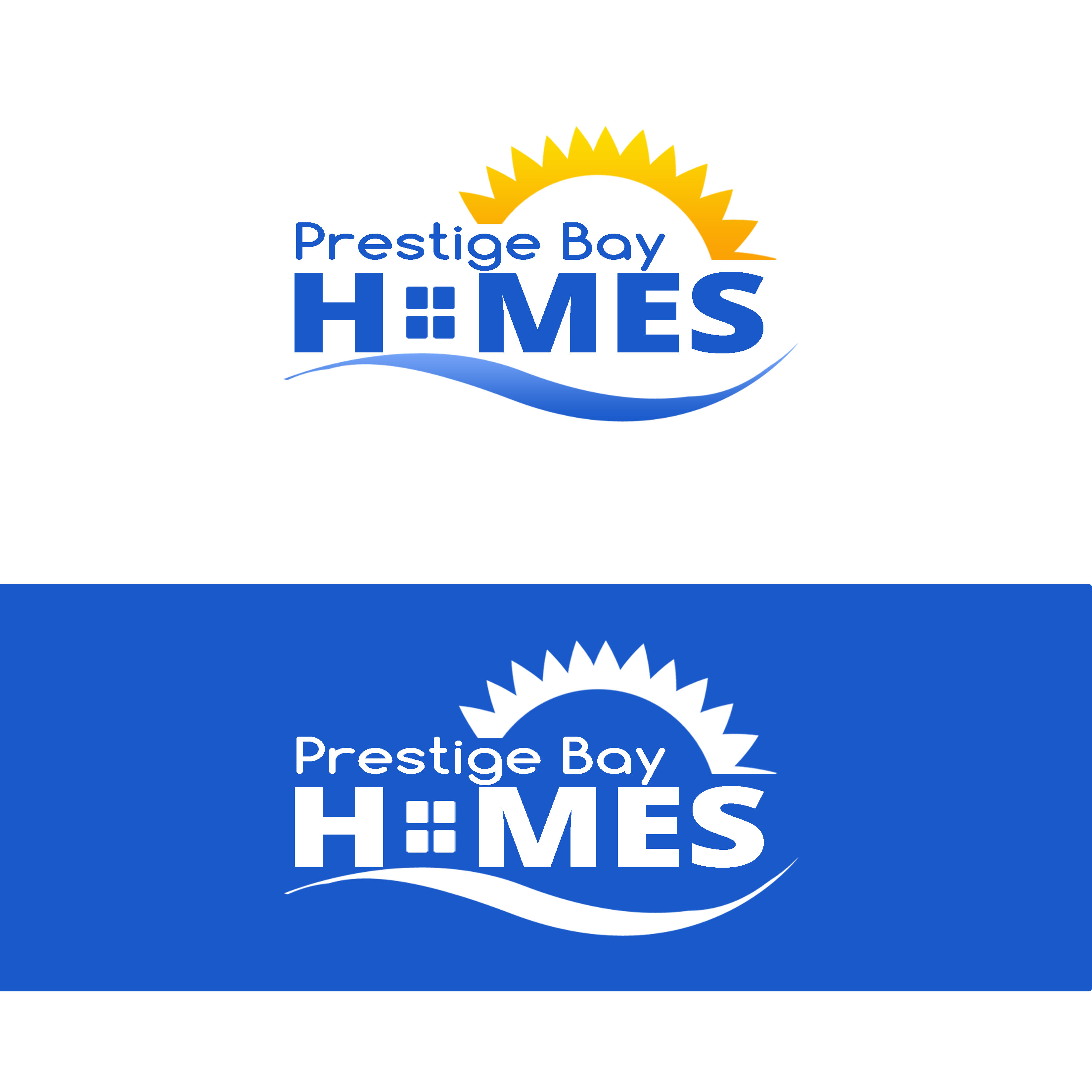 Logo Design by Allan Esclamado - Entry No. 46 in the Logo Design Contest Imaginative Logo Design for Prestige Bay Homes.