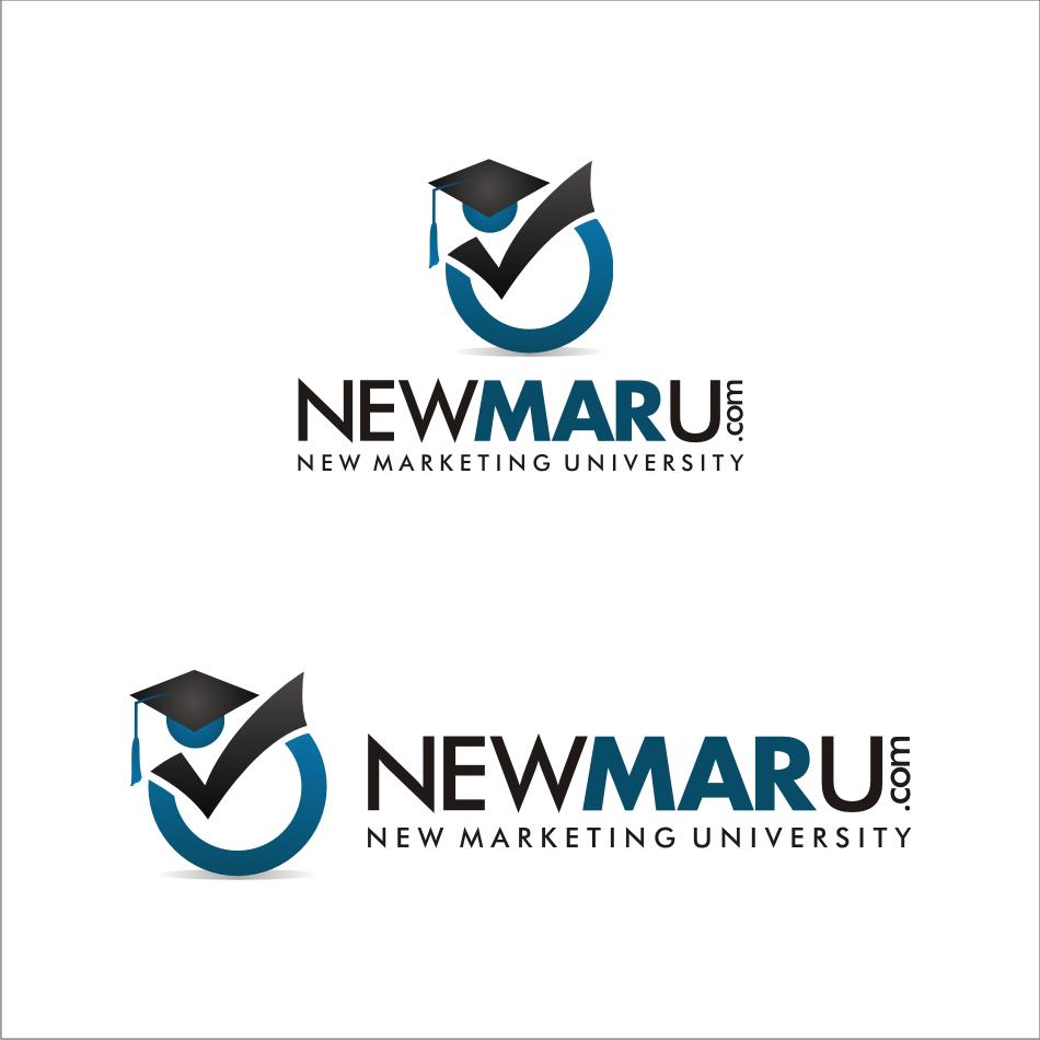 Logo Design by key - Entry No. 86 in the Logo Design Contest NewMarU.com (New Marketing University).