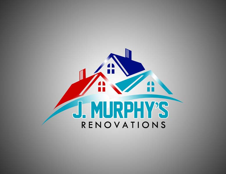 Logo Design by Private User - Entry No. 87 in the Logo Design Contest J. Murphy's Renovations Logo Design.