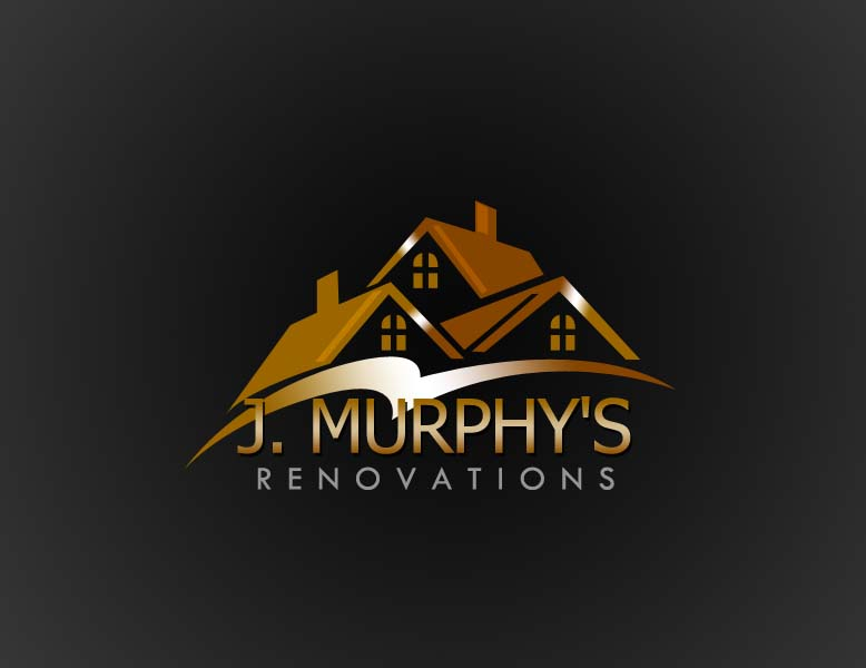 Logo Design by Private User - Entry No. 88 in the Logo Design Contest J. Murphy's Renovations Logo Design.