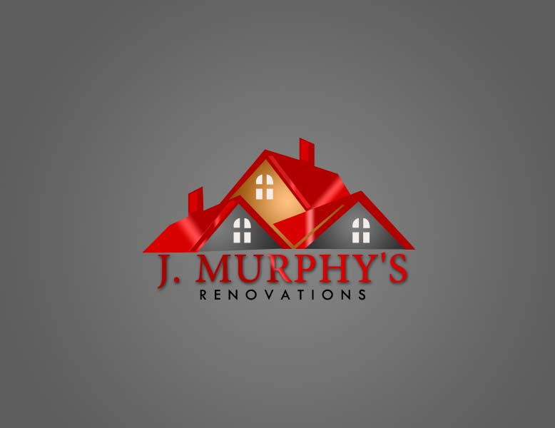 Logo Design by Private User - Entry No. 91 in the Logo Design Contest J. Murphy's Renovations Logo Design.