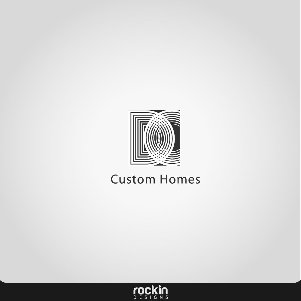 Logo Design by rockin - Entry No. 252 in the Logo Design Contest Creative Logo Design for DC Custom Homes.
