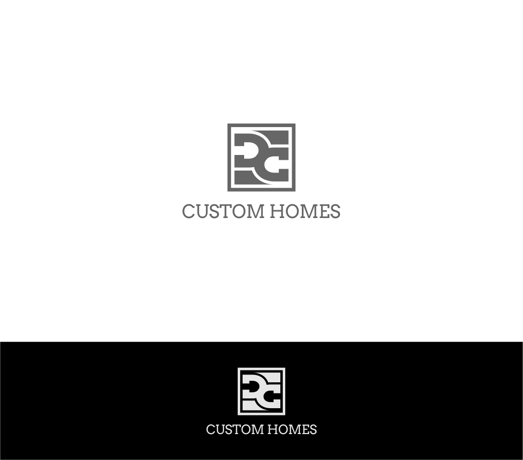 Logo Design by haidu - Entry No. 255 in the Logo Design Contest Creative Logo Design for DC Custom Homes.