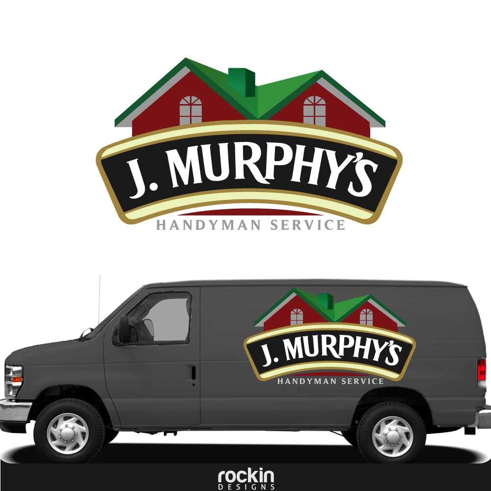 Logo Design by rockin - Entry No. 97 in the Logo Design Contest J. Murphy's Renovations Logo Design.
