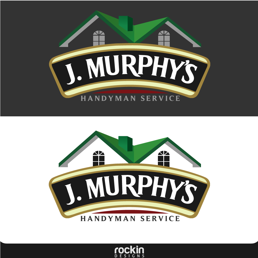 Logo Design by rockin - Entry No. 98 in the Logo Design Contest J. Murphy's Renovations Logo Design.