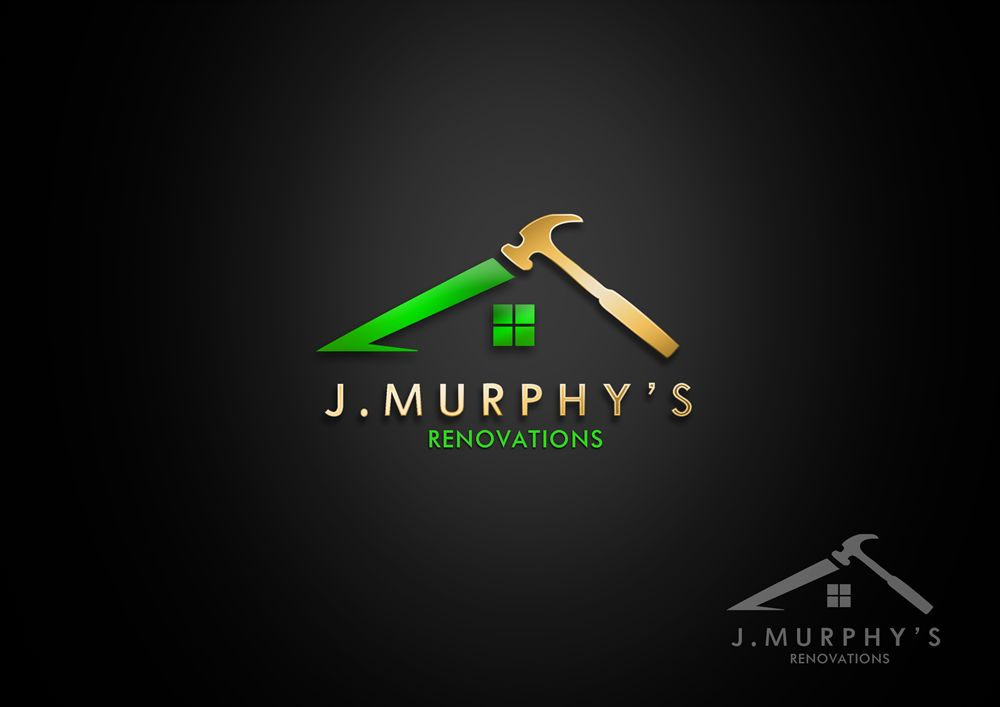 Logo Design by Respati Himawan - Entry No. 99 in the Logo Design Contest J. Murphy's Renovations Logo Design.