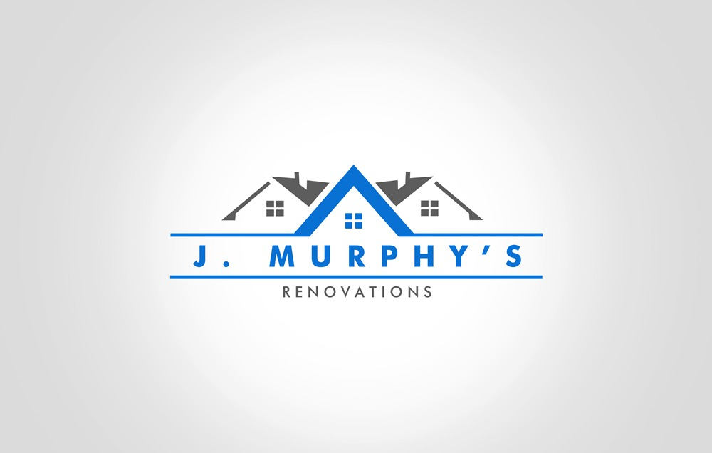 Logo Design by Respati Himawan - Entry No. 100 in the Logo Design Contest J. Murphy's Renovations Logo Design.