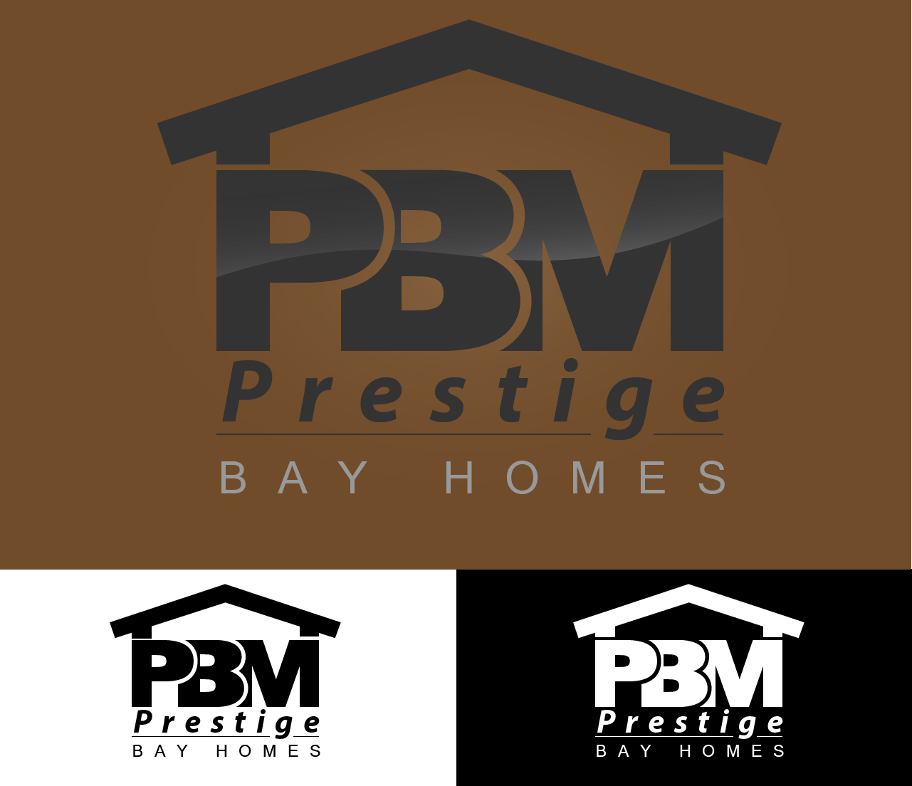 Logo Design by Adnane Zarouk - Entry No. 52 in the Logo Design Contest Imaginative Logo Design for Prestige Bay Homes.