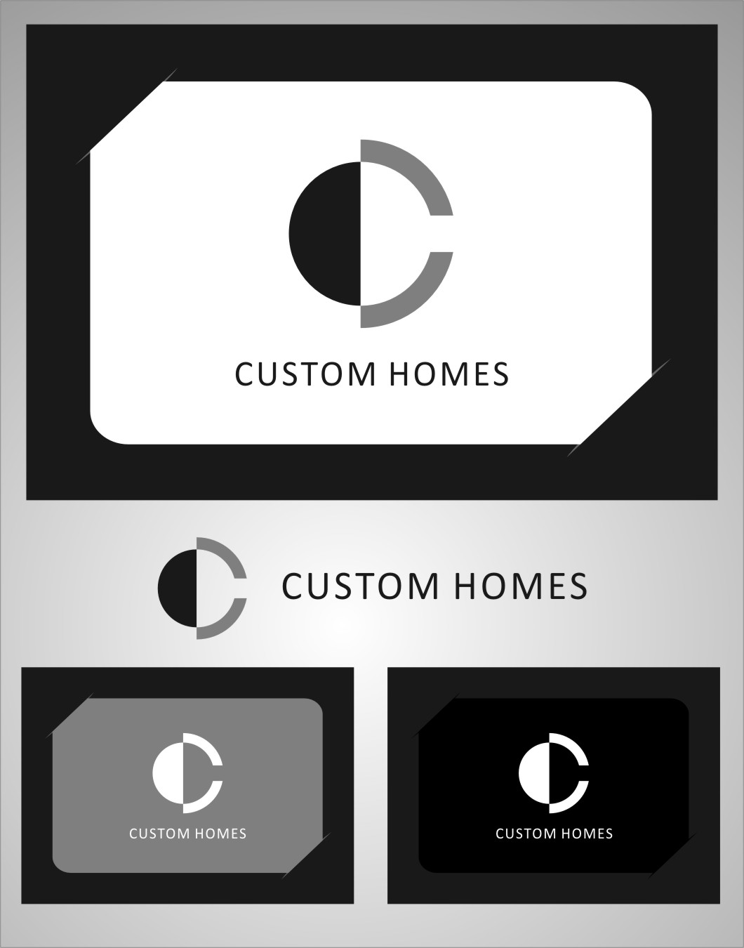 Logo Design by RasYa Muhammad Athaya - Entry No. 259 in the Logo Design Contest Creative Logo Design for DC Custom Homes.