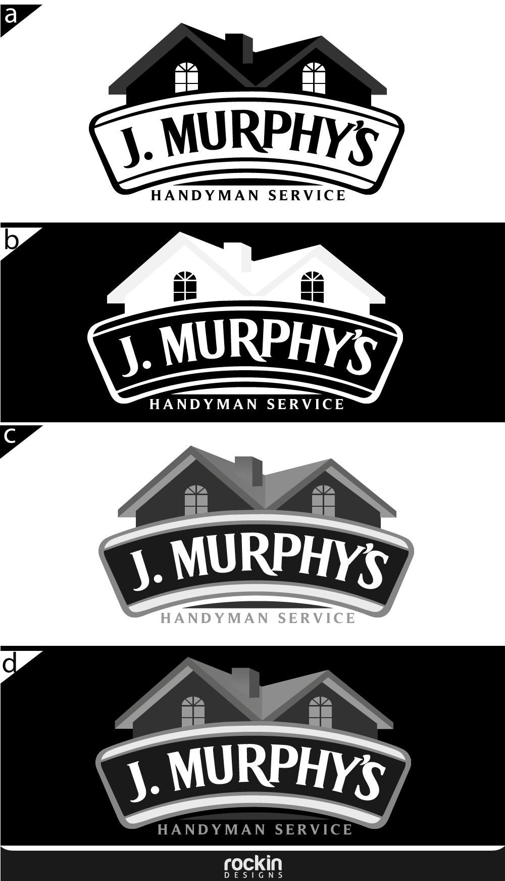 Logo Design by rockin - Entry No. 102 in the Logo Design Contest J. Murphy's Renovations Logo Design.