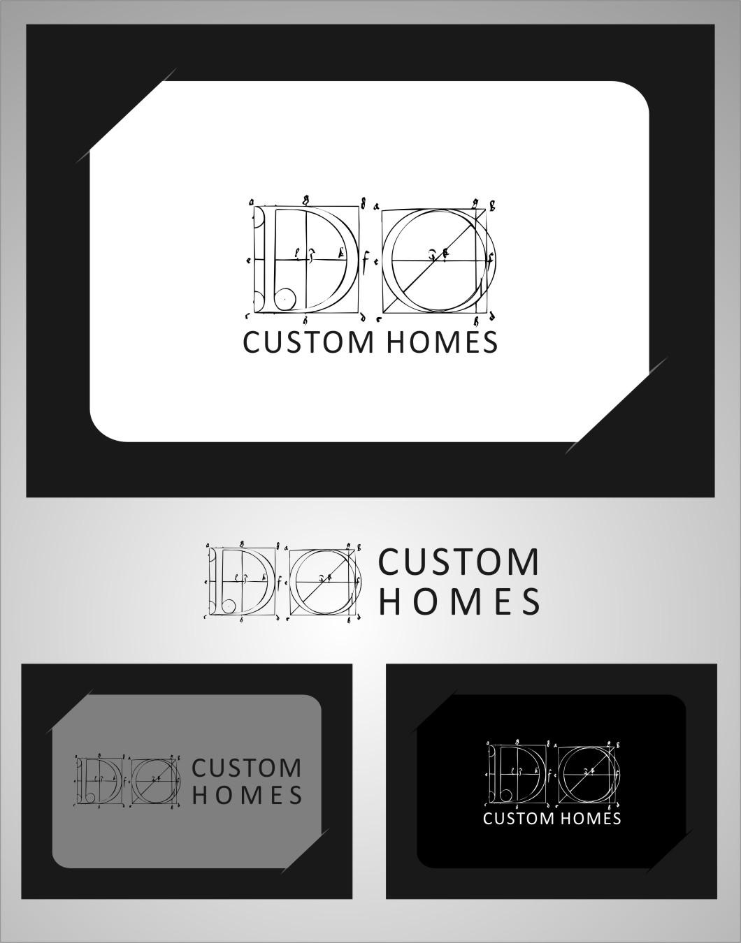 Logo Design by Ngepet_art - Entry No. 260 in the Logo Design Contest Creative Logo Design for DC Custom Homes.