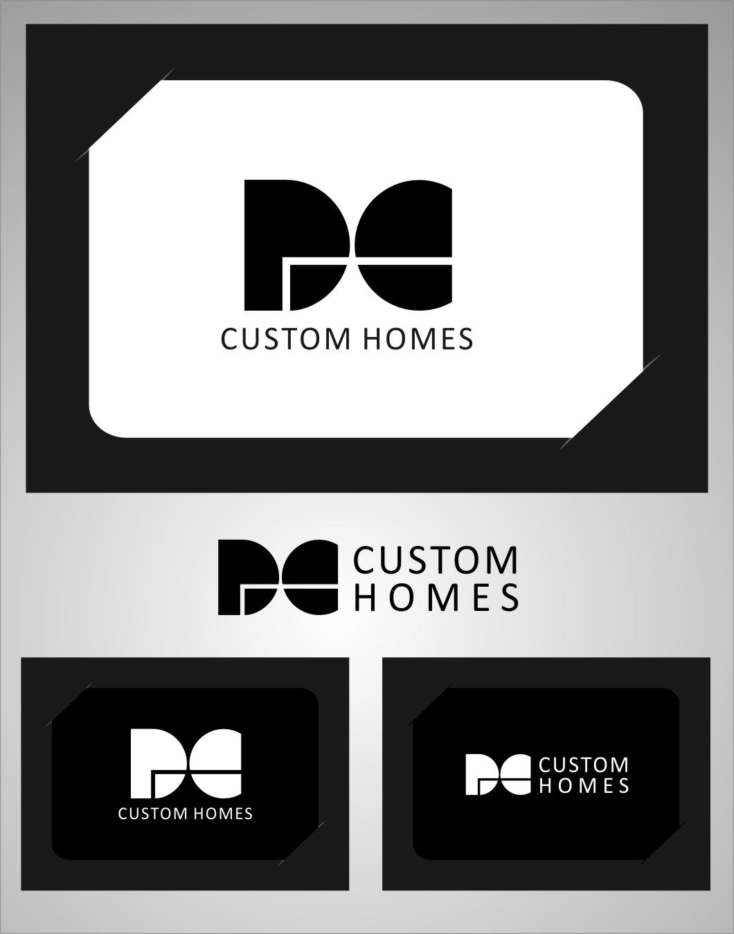Logo Design by Ngepet_art - Entry No. 261 in the Logo Design Contest Creative Logo Design for DC Custom Homes.