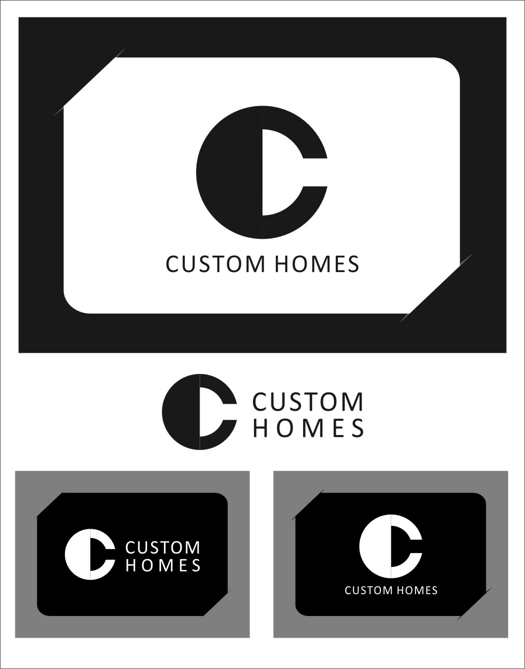 Logo Design by RoSyid Rono-Rene On Java - Entry No. 262 in the Logo Design Contest Creative Logo Design for DC Custom Homes.