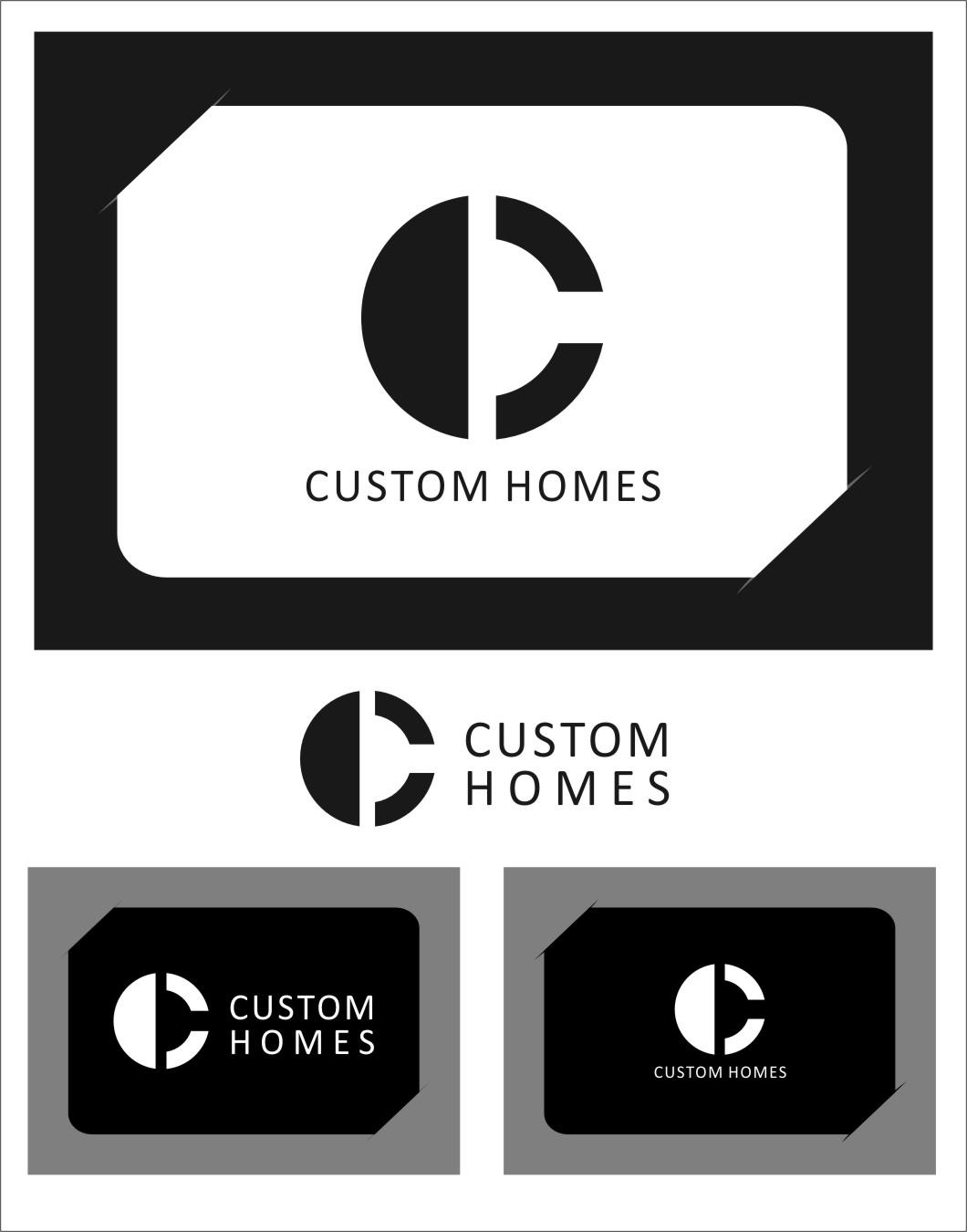 Logo Design by Ngepet_art - Entry No. 265 in the Logo Design Contest Creative Logo Design for DC Custom Homes.