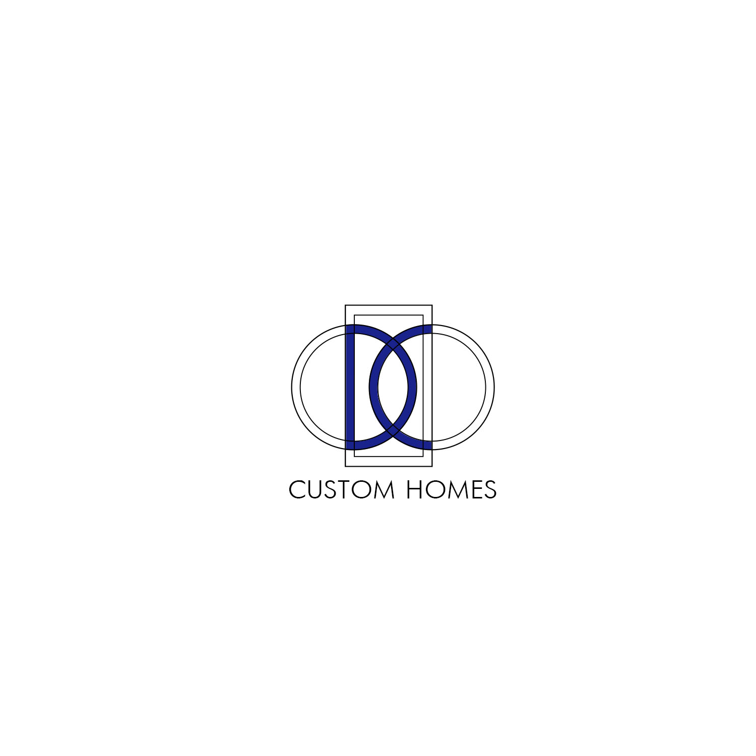 Logo Design by Private User - Entry No. 266 in the Logo Design Contest Creative Logo Design for DC Custom Homes.