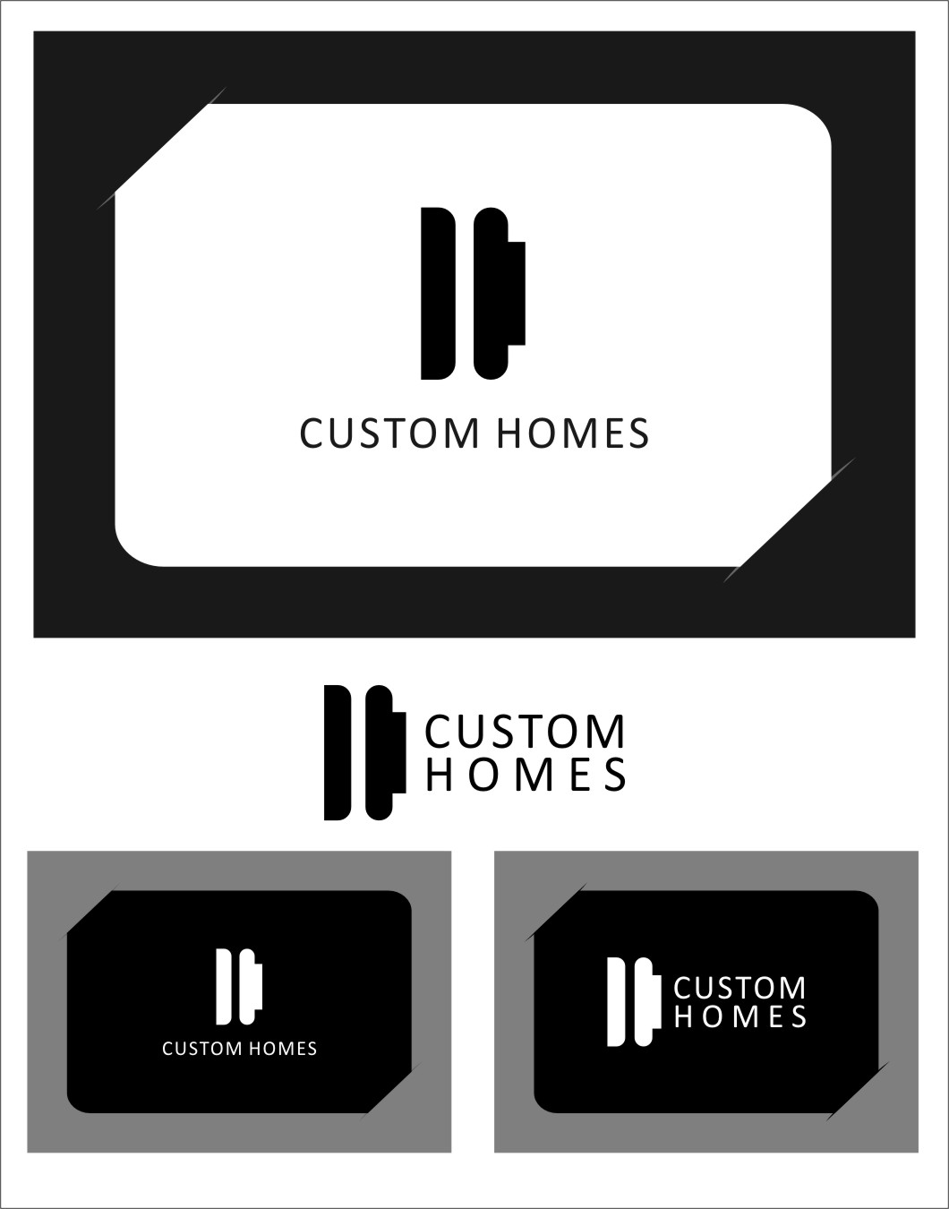 Logo Design by Ngepet_art - Entry No. 271 in the Logo Design Contest Creative Logo Design for DC Custom Homes.