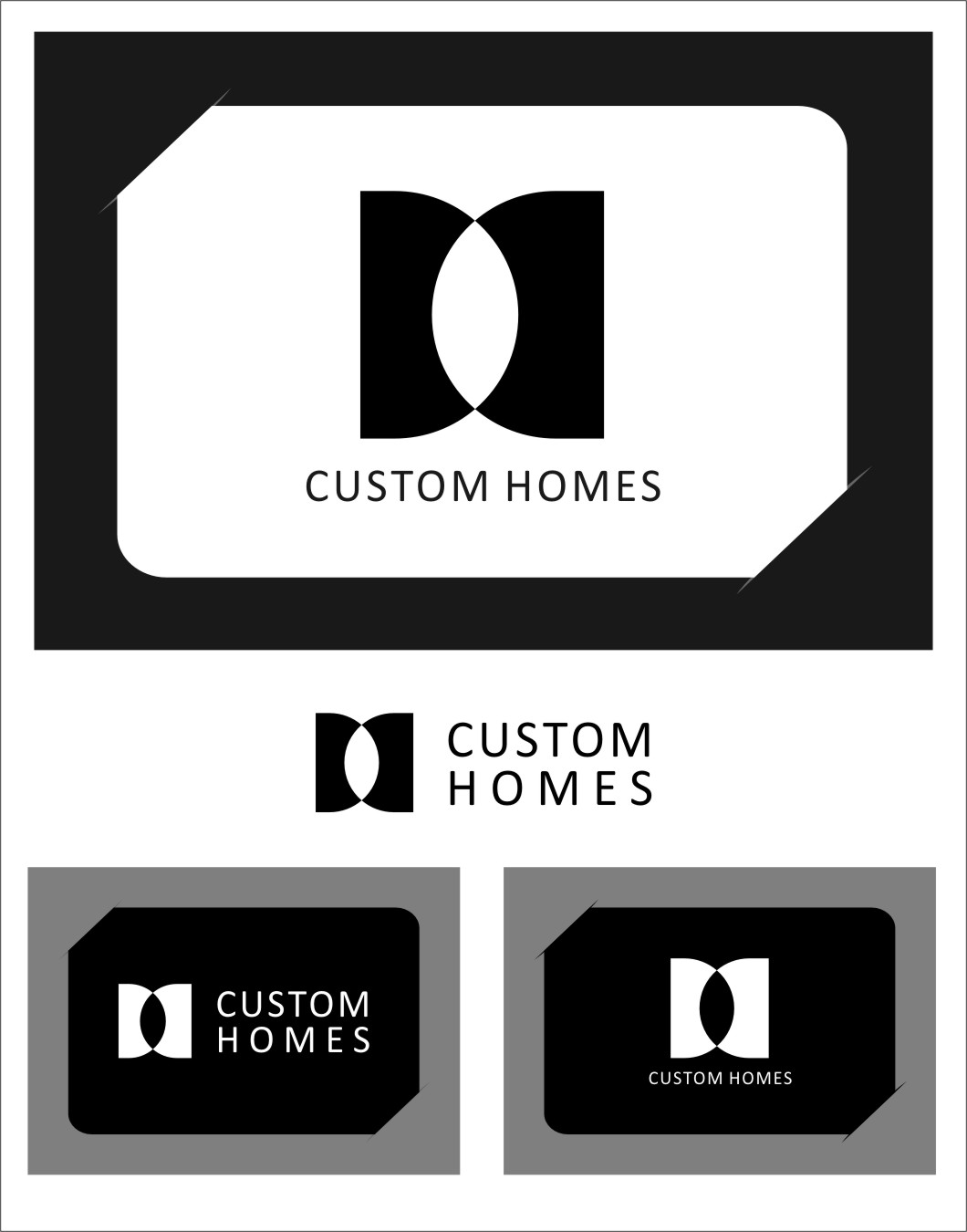 Logo Design by Ngepet_art - Entry No. 275 in the Logo Design Contest Creative Logo Design for DC Custom Homes.