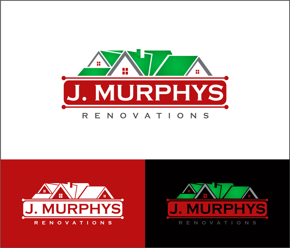 Logo Design by Armada Jamaluddin - Entry No. 104 in the Logo Design Contest J. Murphy's Renovations Logo Design.