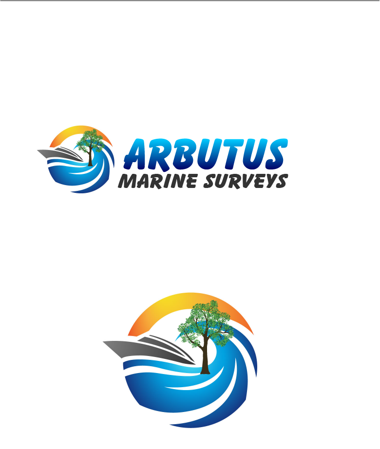 Logo Design by Private User - Entry No. 35 in the Logo Design Contest Professional Business Logo Design for Arbutus Marine Surveys.