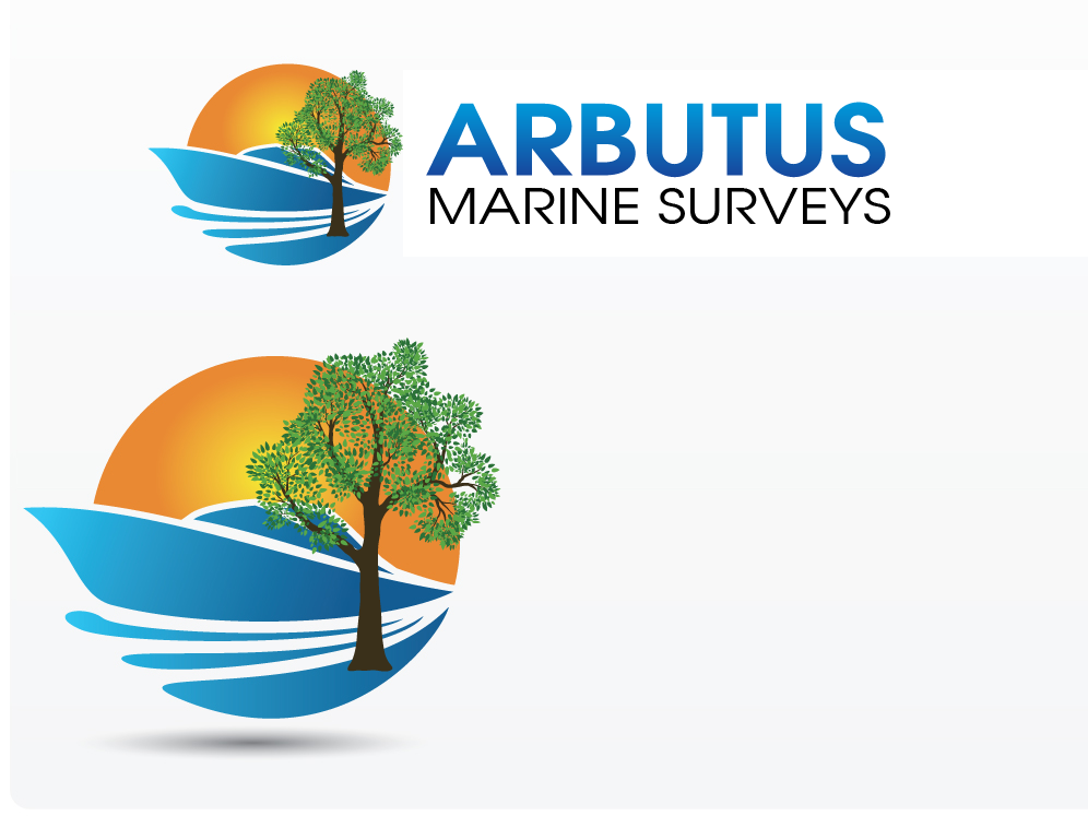 Logo Design by Private User - Entry No. 37 in the Logo Design Contest Professional Business Logo Design for Arbutus Marine Surveys.