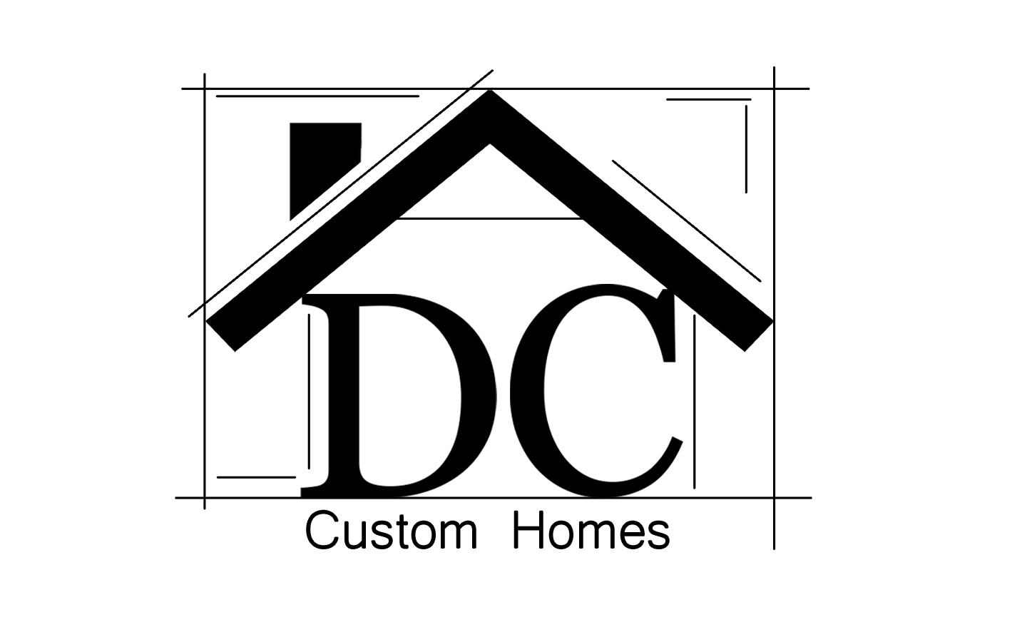 Logo Design by Luke Kozlowski - Entry No. 279 in the Logo Design Contest Creative Logo Design for DC Custom Homes.
