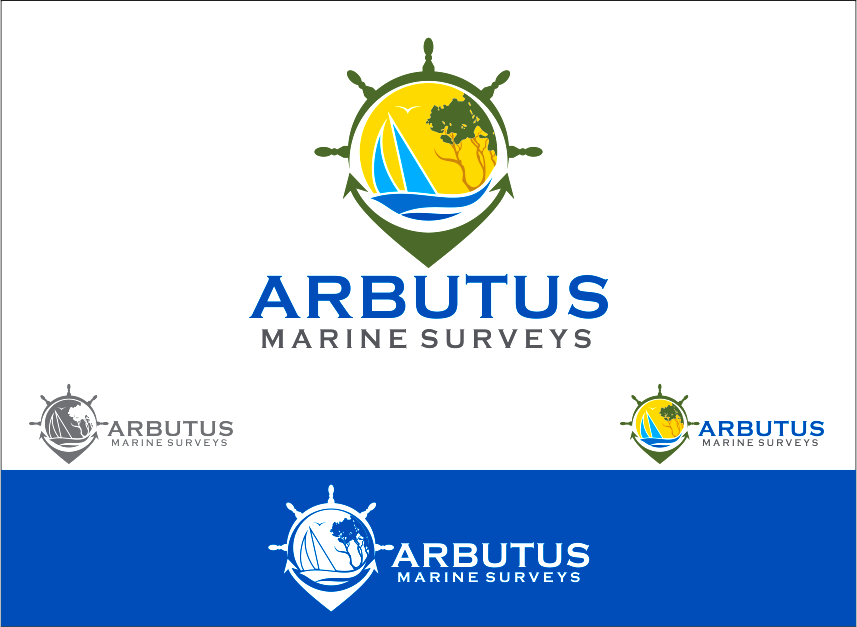 Logo Design by Armada Jamaluddin - Entry No. 39 in the Logo Design Contest Professional Business Logo Design for Arbutus Marine Surveys.