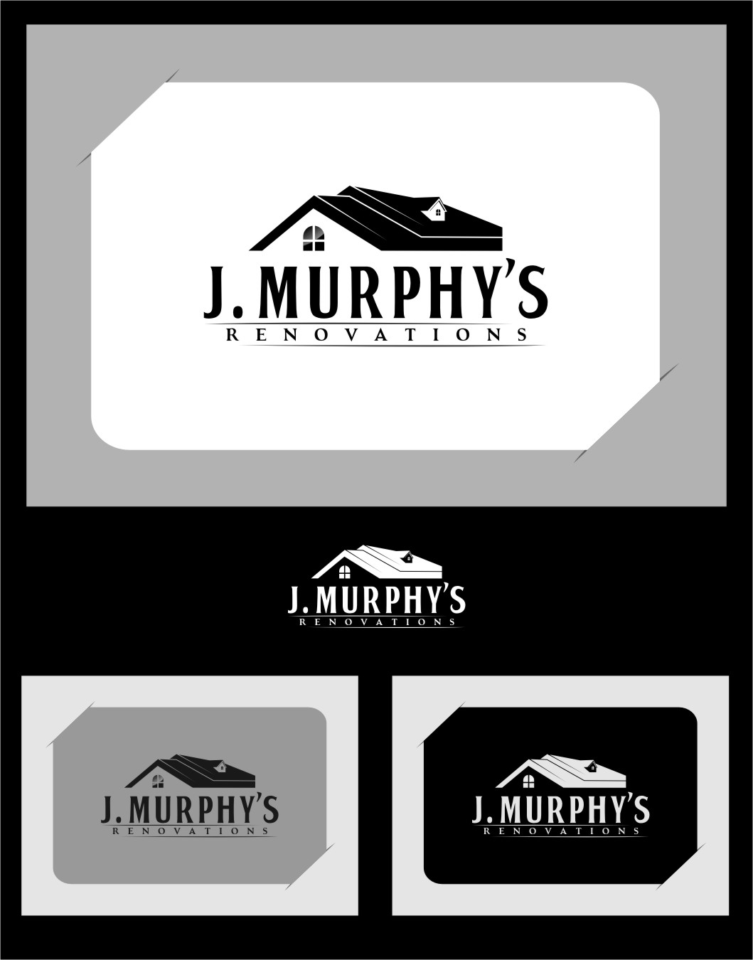 Logo Design by Ngepet_art - Entry No. 108 in the Logo Design Contest J. Murphy's Renovations Logo Design.