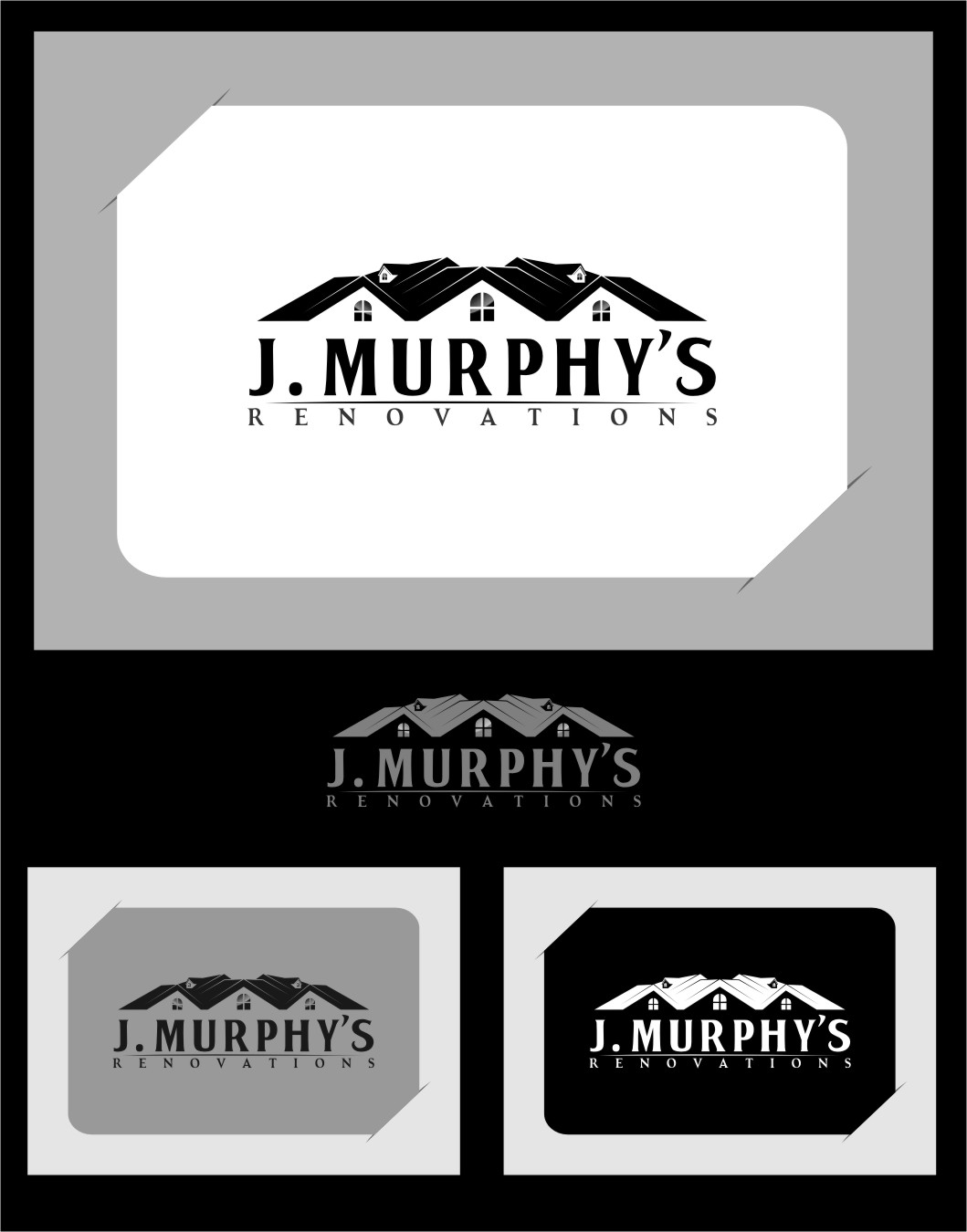 Logo Design by RasYa Muhammad Athaya - Entry No. 110 in the Logo Design Contest J. Murphy's Renovations Logo Design.