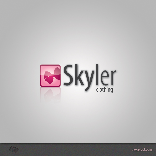 Logo Design by Kevin  Haag - Entry No. 102 in the Logo Design Contest Skyler Clothing Logo.