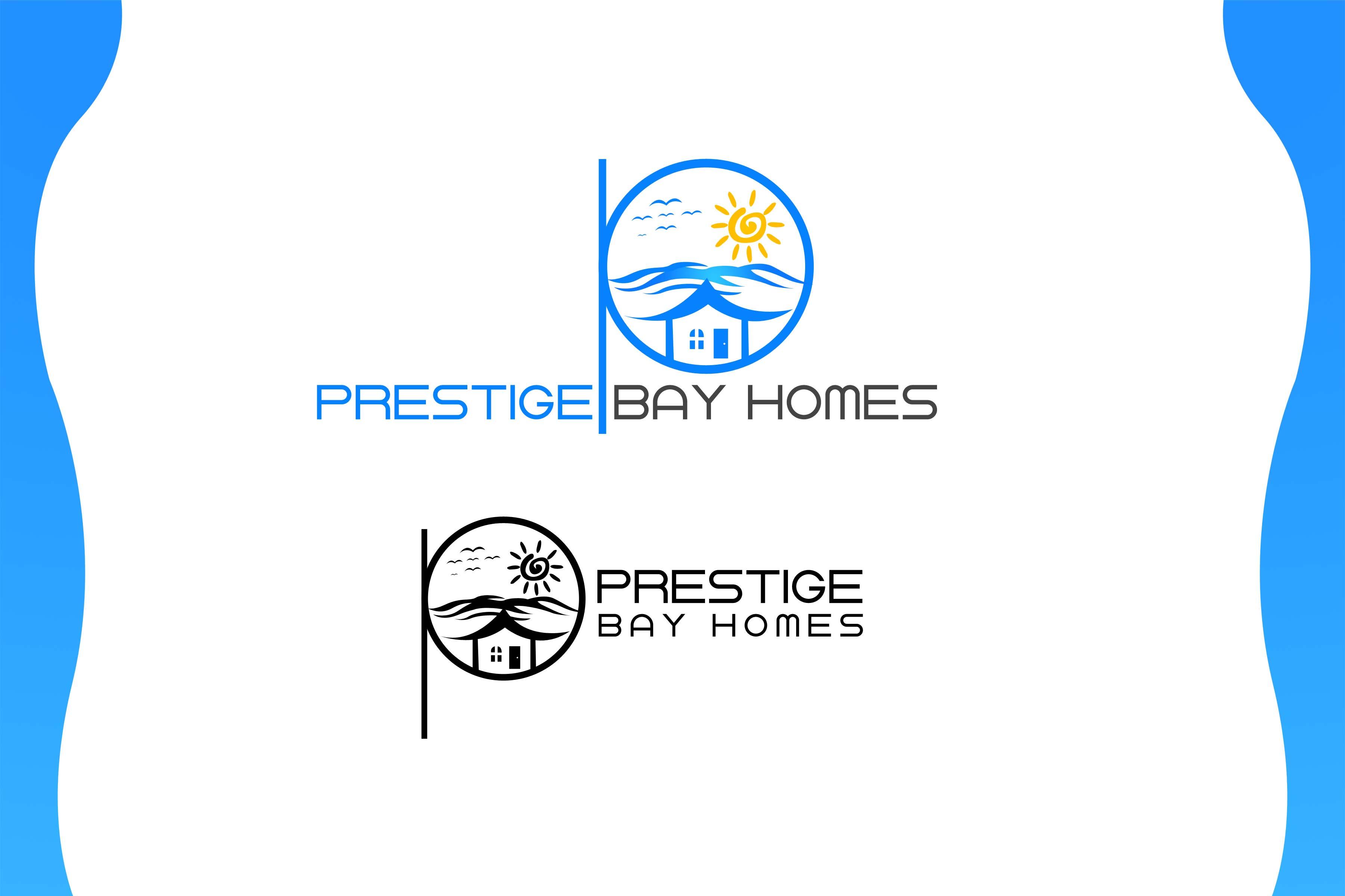 Logo Design by Private User - Entry No. 70 in the Logo Design Contest Imaginative Logo Design for Prestige Bay Homes.