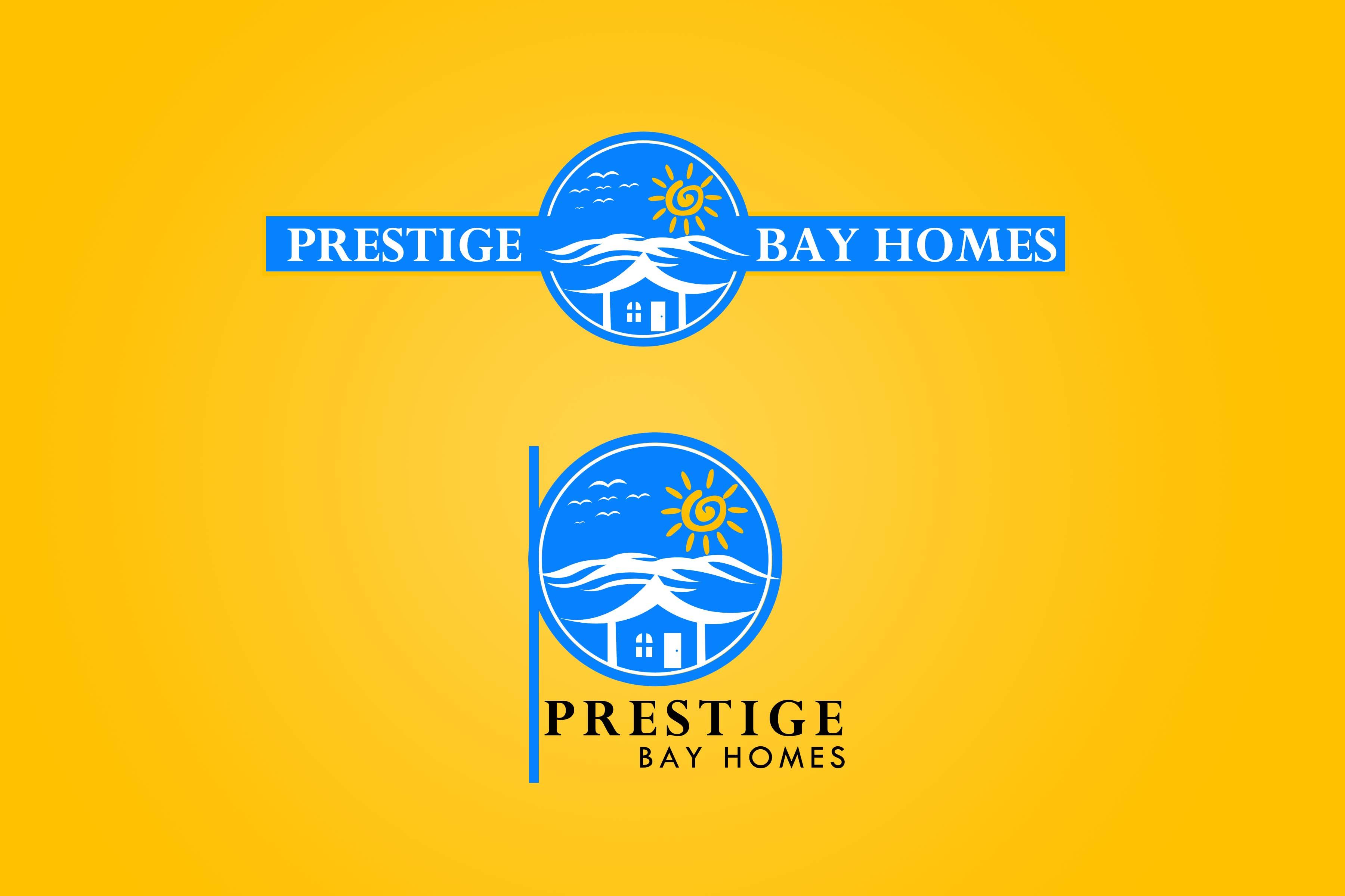 Logo Design by Private User - Entry No. 71 in the Logo Design Contest Imaginative Logo Design for Prestige Bay Homes.