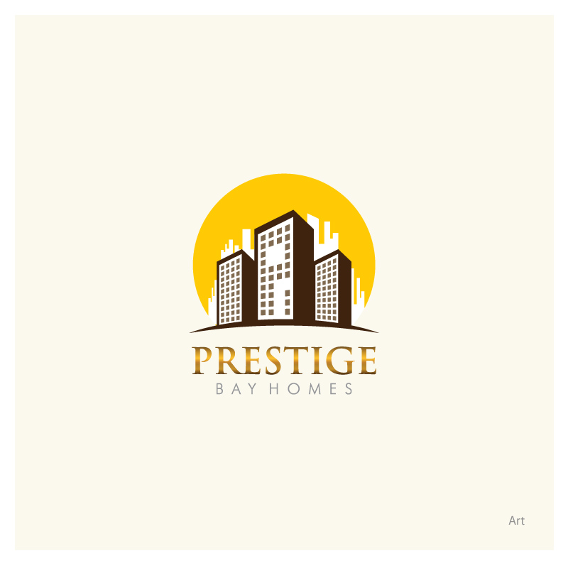 Logo Design by Puspita Wahyuni - Entry No. 77 in the Logo Design Contest Imaginative Logo Design for Prestige Bay Homes.